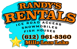 Randy's Rentals on Mille Lacs Lake - formerly hosted on MilleLacs.com website