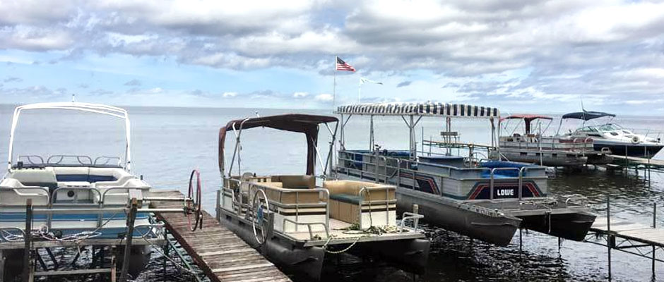 Vacation Home Cabin Air BnB Rentals at Randys Rentals on Mille Lacs Lake