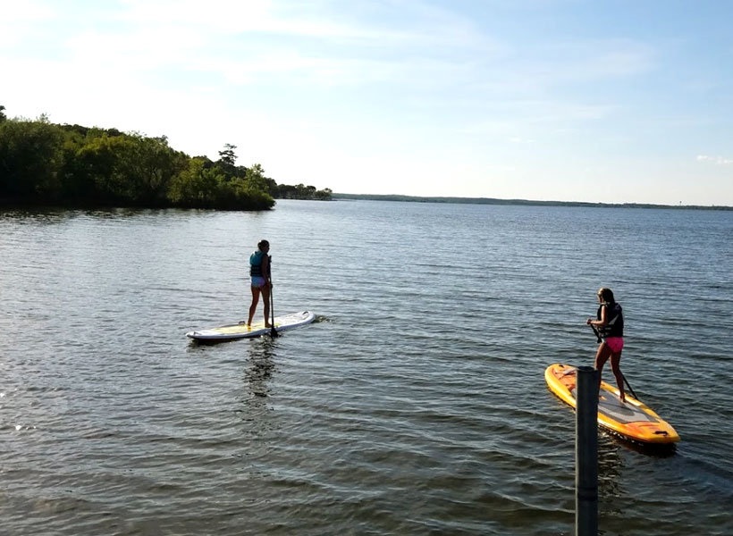 Paddleboard Rentals on Mille Lacs Lake Recreational Rentals at Randy's Rentals