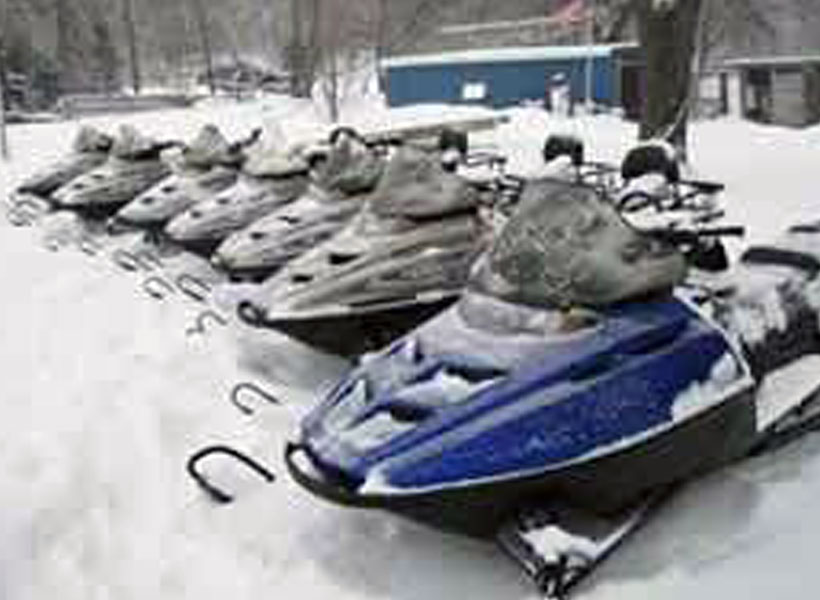 Snowmobile Rentals on Mille Lacs Lake Recreational Rentals at Randy's Rentals